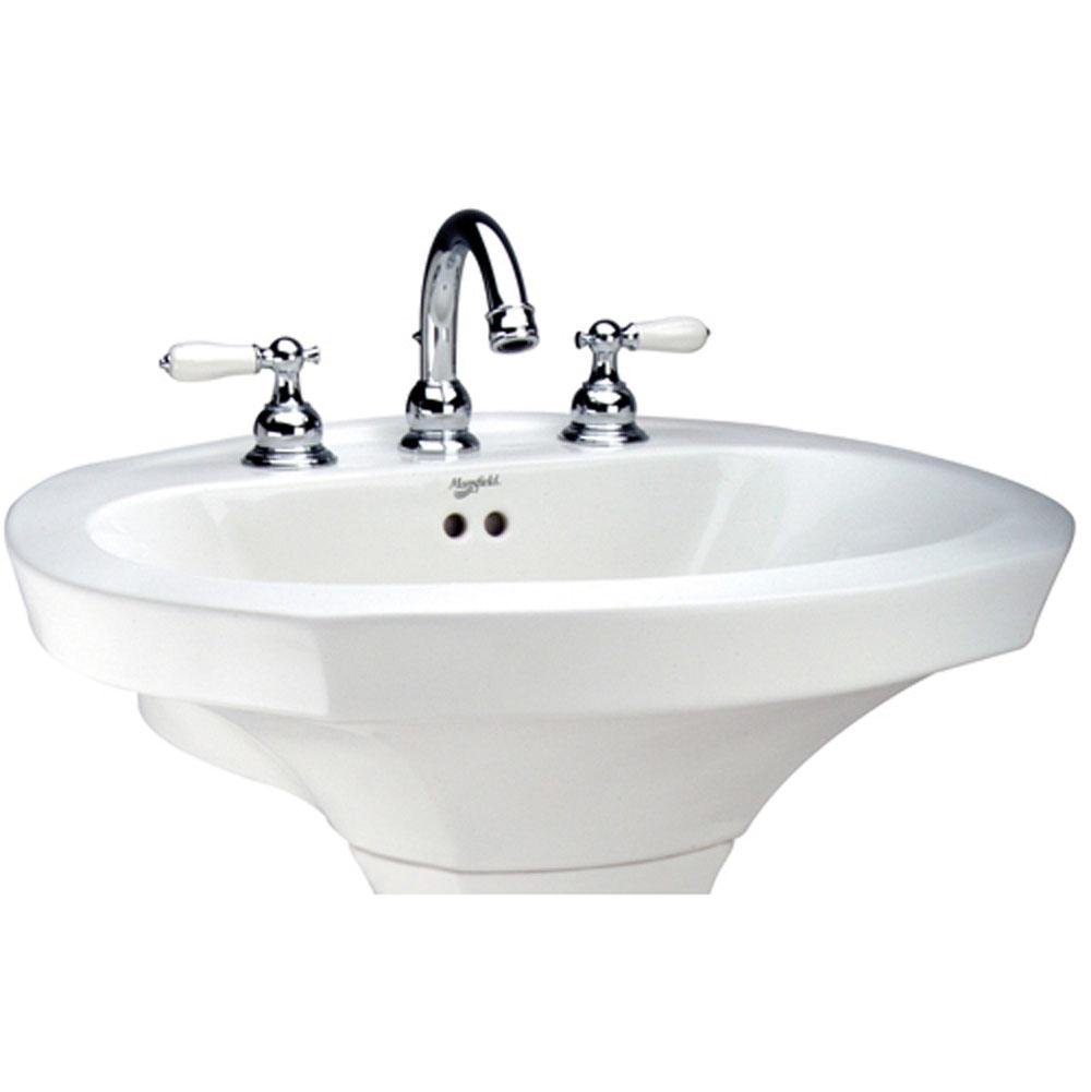 Mansfield Sinks Pedestal : Mansfield Plumbing Bathroom Sinks Pedestal Bathroom Sinks Wolff Bros ...