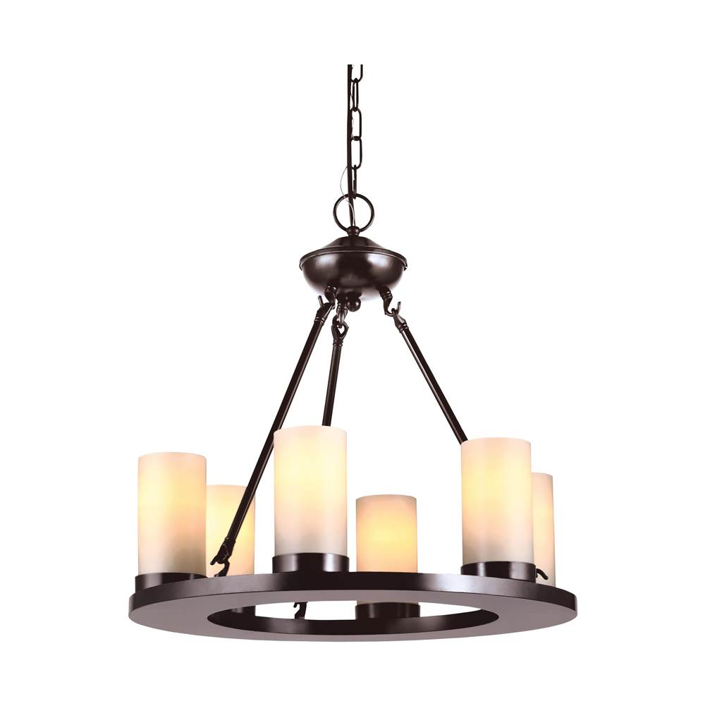 Sea gull lighting 31586en3 710 six light chandelier