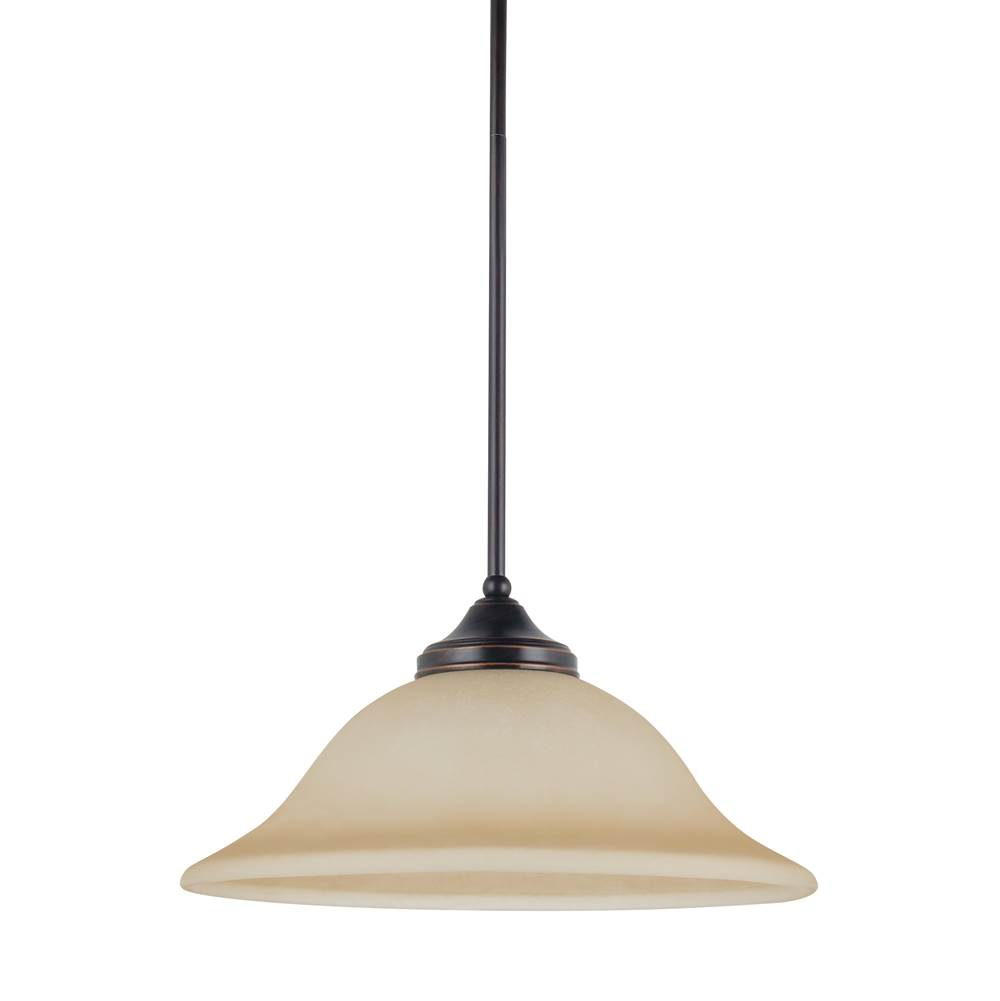 Sea gull lighting 65174 710 at wolff design center plumbing sea gull lighting 65174 710 one light pendant mozeypictures Image collections